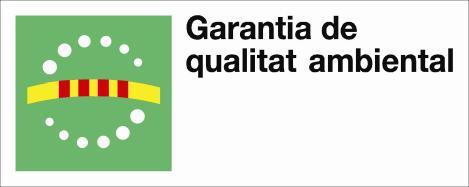 Logotip distintiu de garantia de qualitat ambiental