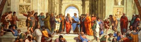 Scuola di Atene de Rafael