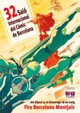 Cartell 32 Salo del Còmic de Barcelona