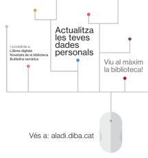 Actualitza les teves dades personals