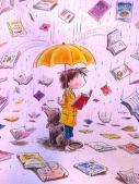 pluja de llibres