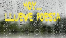 Hoy llueve poesia