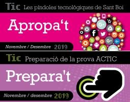 Cursos TIC novembre desembre 2019