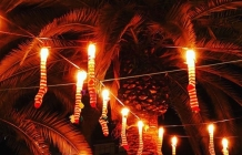 Llums i palmeres Nadal 2018 Sant Boi