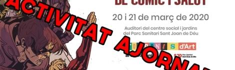 Avís ajornament Jornada Còmic i salut