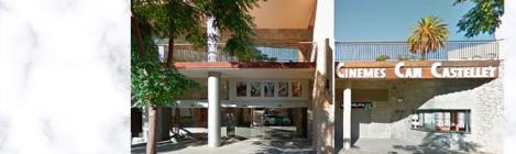 Logo i exterior dels Cinemes Can Castellet