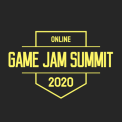 Game Jame Summit 2020 logo negre