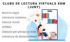 Clubs lectura virtuals juny 2020