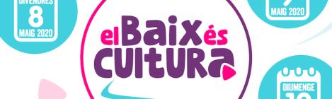 Banner El Baix és cultura (maig 2020)