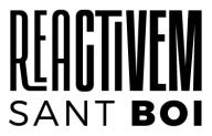 Logo Reactivem Sant Boi fons blanc